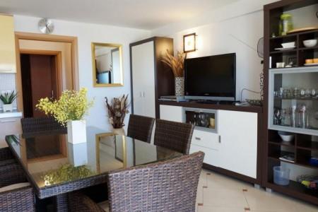 Kožino - namješten apartman prvi red do mora, 47.83 m2