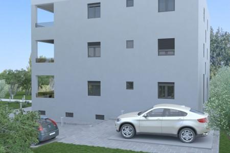 Turanj - novi jednosoban apartman u prizemlju, 53 m2, 100 m od mora