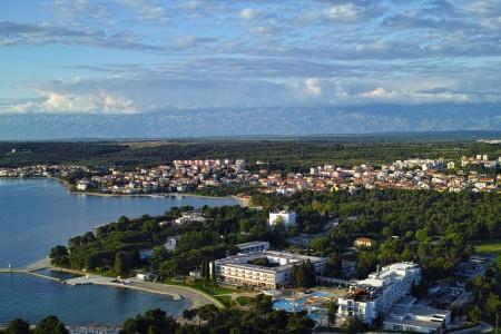 Zadar, Diklo - građevinsko zemljište s pogledom na more, 1361 m2