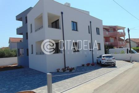 Zadar, Smiljevac - novi dvosoban stan na 1. katu, 66,67 m2