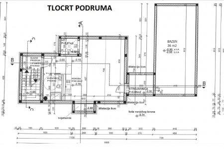 Vodice - zemljište s građevinskom dozvolom i započetom gradnjom, 864 m2