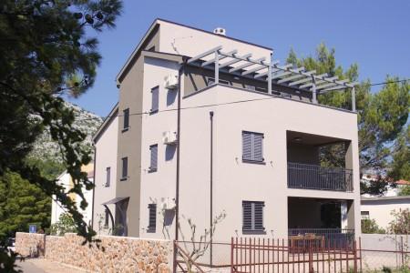 Starigrad - Trosoban stan s pogledom na more, 105.60 m2, novogradnja