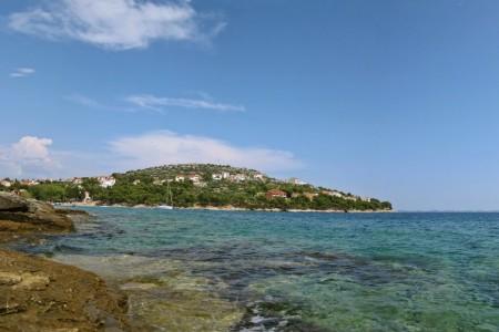 Murter - Slanica, građevinsko zemljište s pogledom na Kornate, 815 m2