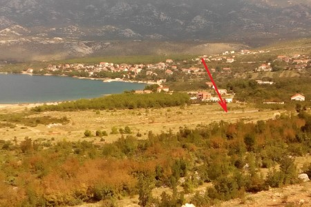Rovanjska, građevinsko zemljište s pogledom na more, 700 m2