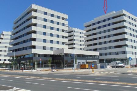 Zadar, Relja – trosoban stan u novoj zgradi Moj Centar, 90 m2, 4. kat