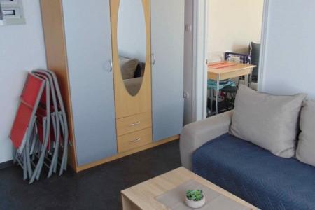 Privlaka - jednosoban apartman s pogledom na more