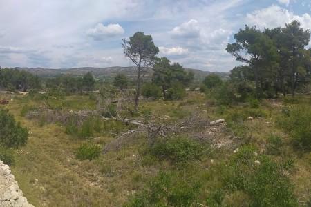 Brodarica - poljoprivredno zemljište s pogledom na more, 17332 m2