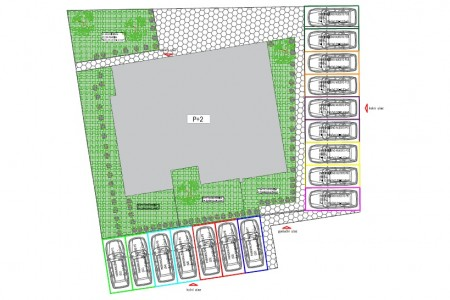 Zadar, Bili Brig - novi jednosoban stan s vrtom,  64 m2