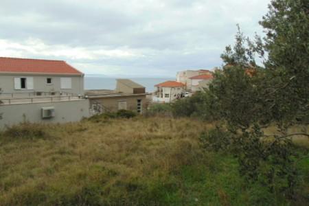 Dugi Rat, Sumpetar - građevinsko zemljište s pogledom na more, 476 m2
