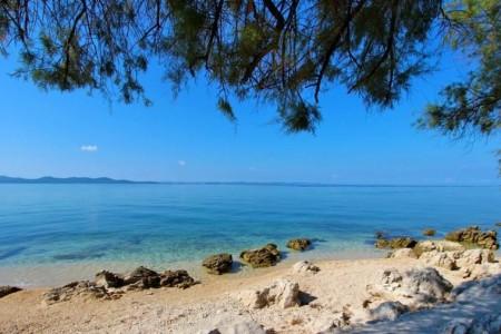 Zadar, Diklo - građevinsko zemljište s pogledom na more, 479 m2